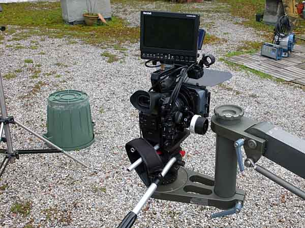 Dolly mit Canon C 300