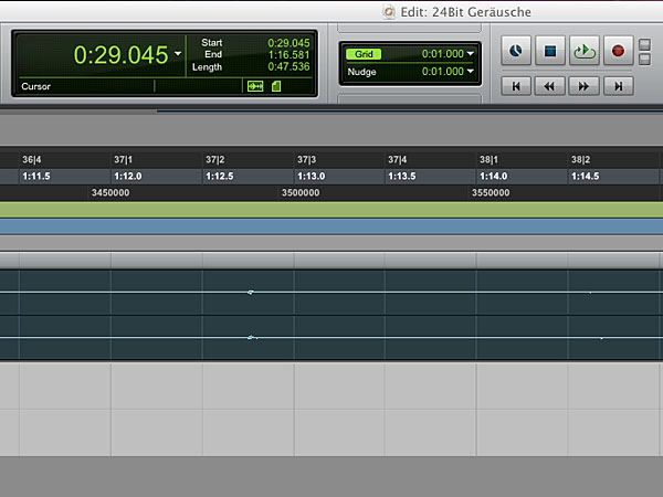 Pro Tools Edit Screenshot